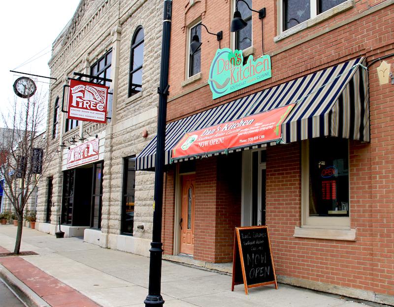 Dan's Kitchen, Aleah Kidd, Door County restaurant