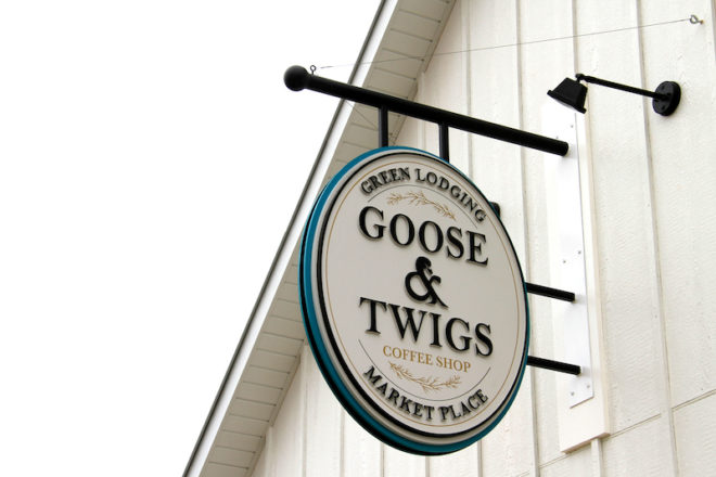 Goose & Twigs Coffee Shop Aims for Inventive and Sustainable