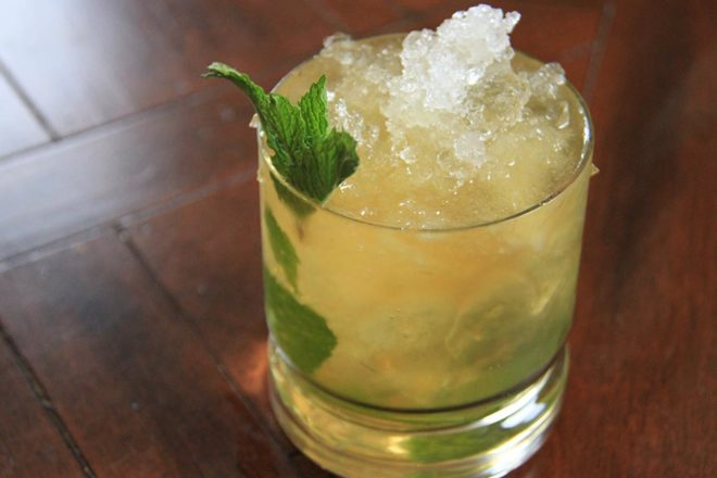 The Spring Sip: Mint Julep