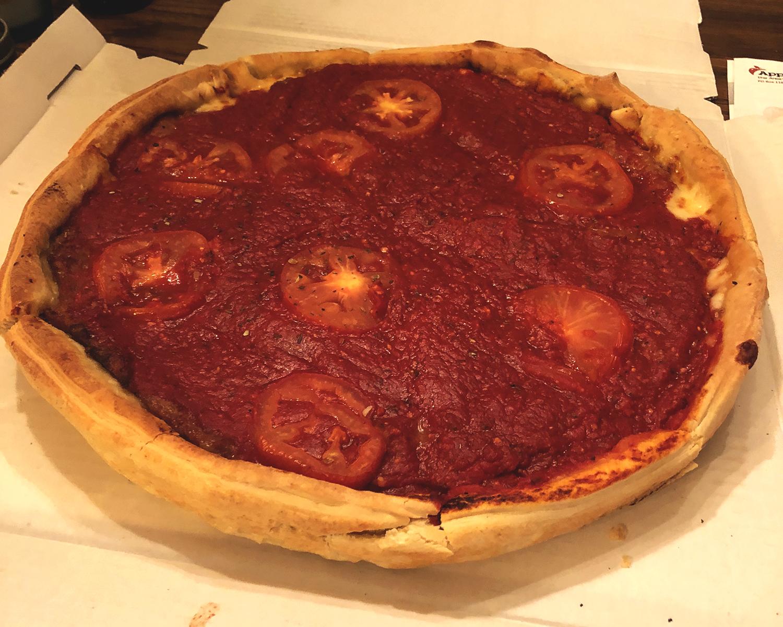 Sonny's Pizza, Aleah Kidd, Deep Dish pizza