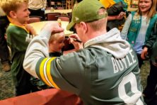 Tim Boyle, Lions Club Packer Night