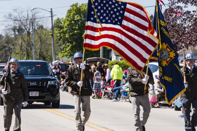 Maifest Parade