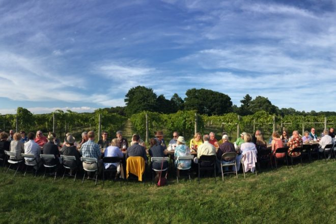 Chef Heidi Gilbertson Featured at Dinner in the Vineyard