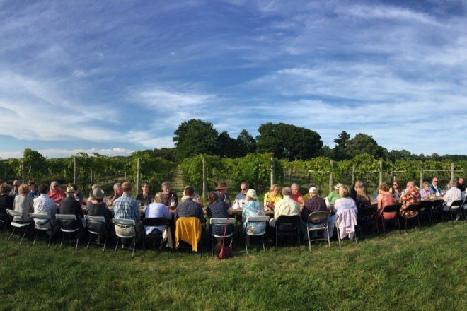 Dinner in the Vineyard Returns Aug. 29, 2019
