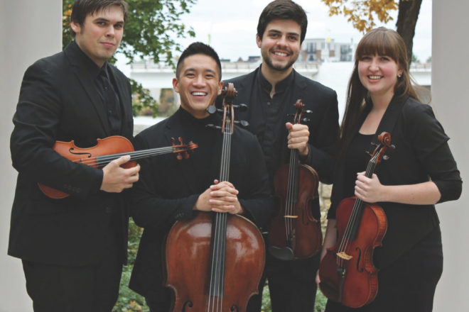 Griffon Quartet Celebrates One Year