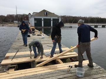 Volunteers Prepare Plum Island for Visitors