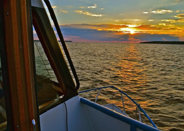 Friends of Plum and Pilot Islands' Sunset Cruise Features Kuhns and Sawyn