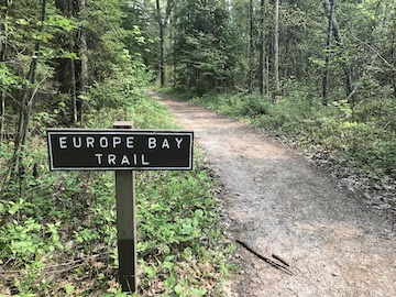 Explore Woodsy Europe Bay Trail at Newport State Park