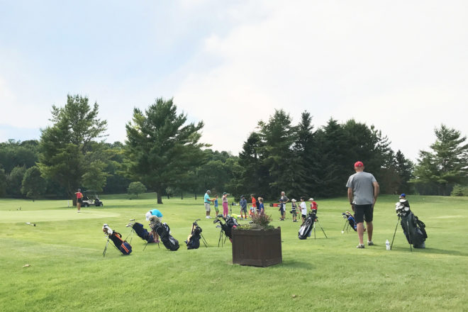 PPGC Hosts Two Kids' Golf Camps