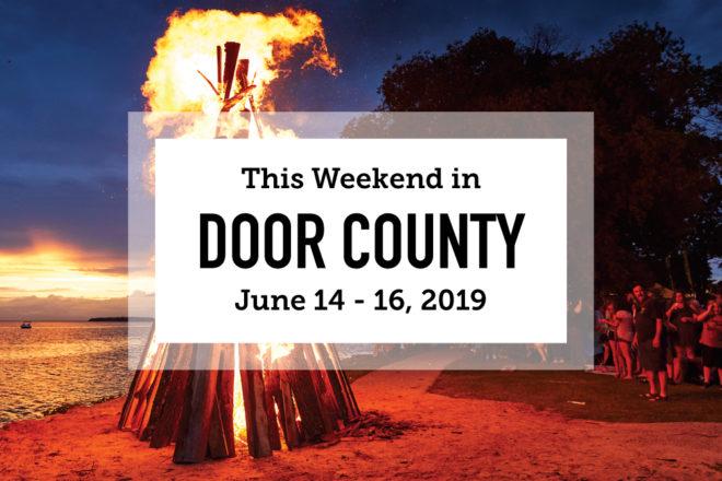 This Weekend in Door County: Bikes, Beer and Fyr Bal
