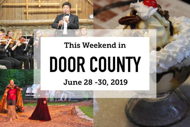 This Weekend in Door County: Spuds, Mud and Music