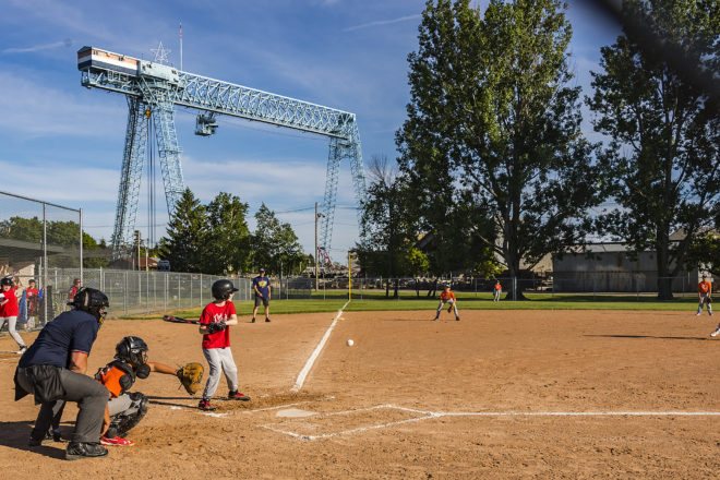 PHOTOS: Baseball In the Shadow of the Shipyard