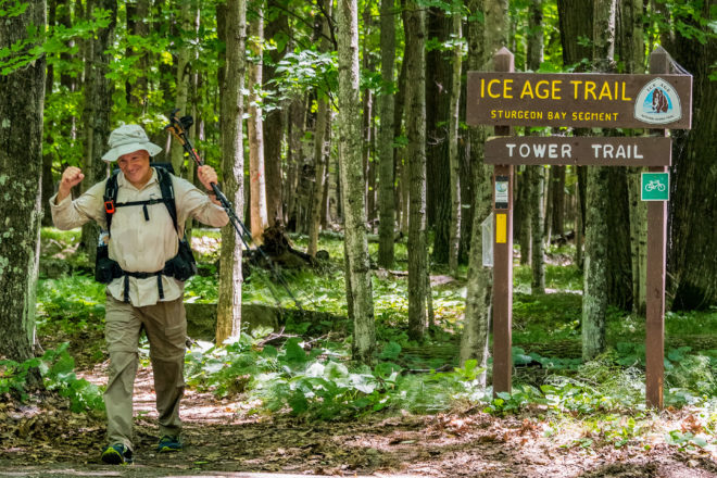 'The Trail Will Give You What You Need': Veteran Finishes Ice Age Trail