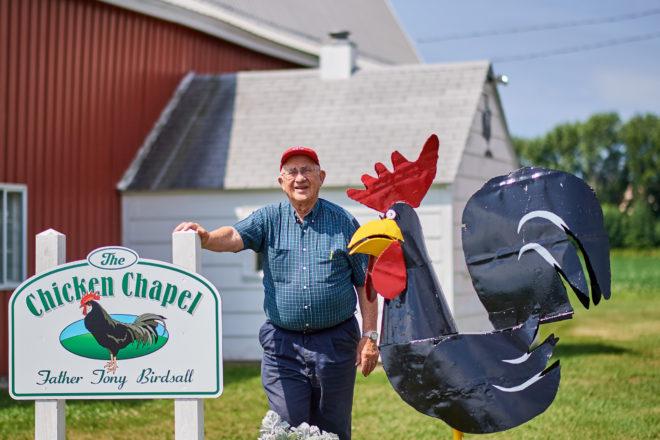 Fr. Tony Birdsall, the Man Who Loves Chickens