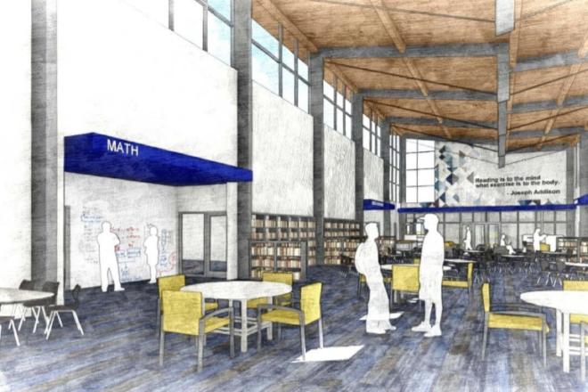 Gibraltar Library Remodel $470,000 Over Budget
