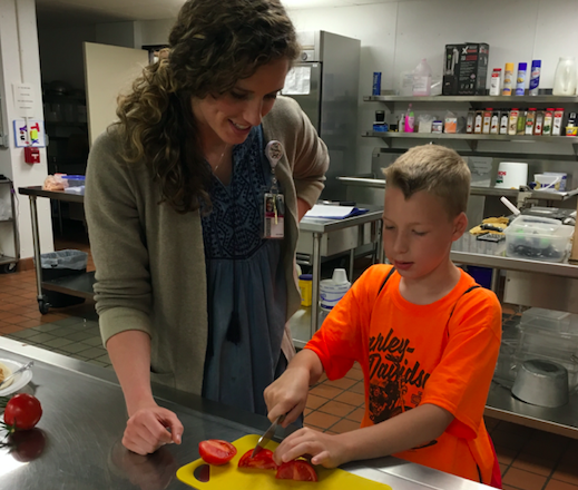 Students Learn about Health and Wellness in Summer-School Initiative