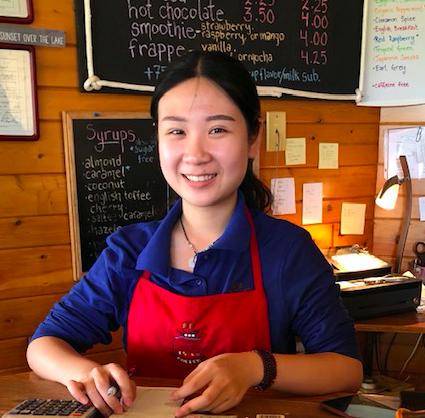 Server of the Week: Cloudia Yan @ A Little Bit of Coffee