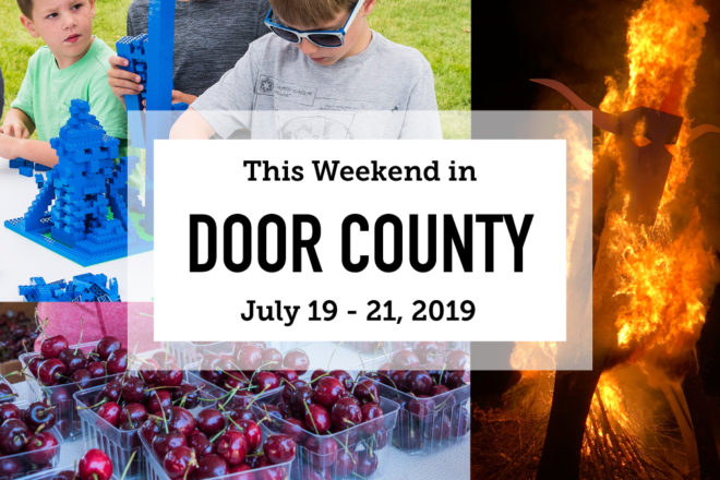 This Weekend in Door County: Cherries, LEGOs and Live Music