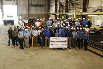 First-Cut-of-Steel Marks Start of Construction on Great Lakes Bulk Carrier