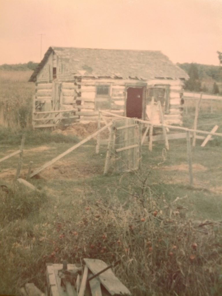 John Fons Found His Roots in 110-Year-Old Cabin - Door