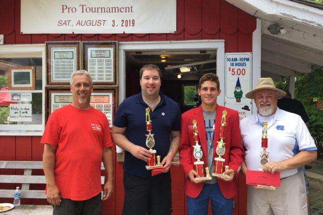 Kraus Wins Red Putter Pro Tournament