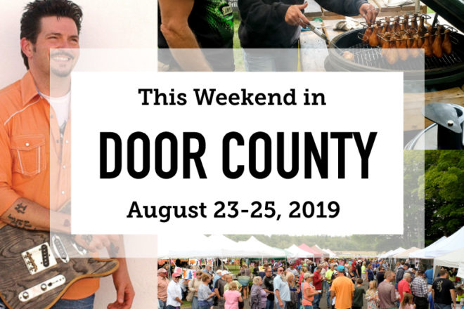 This Weekend in Door County: Barbeque and the Blues