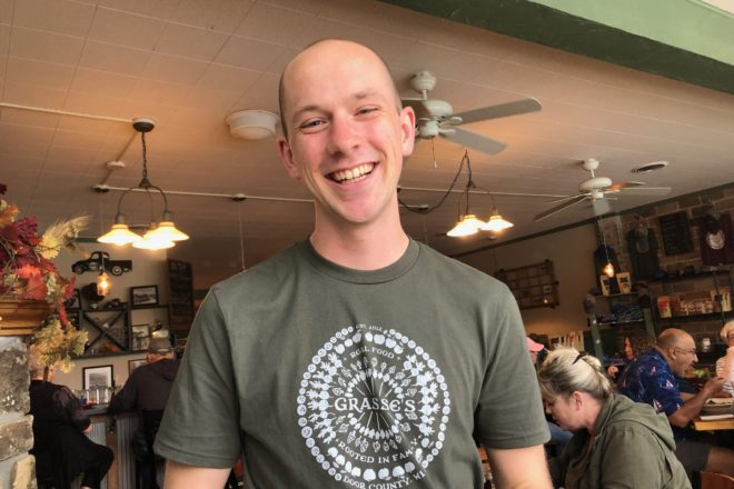Server of the Week: Peter Burress at Grasse's Grill