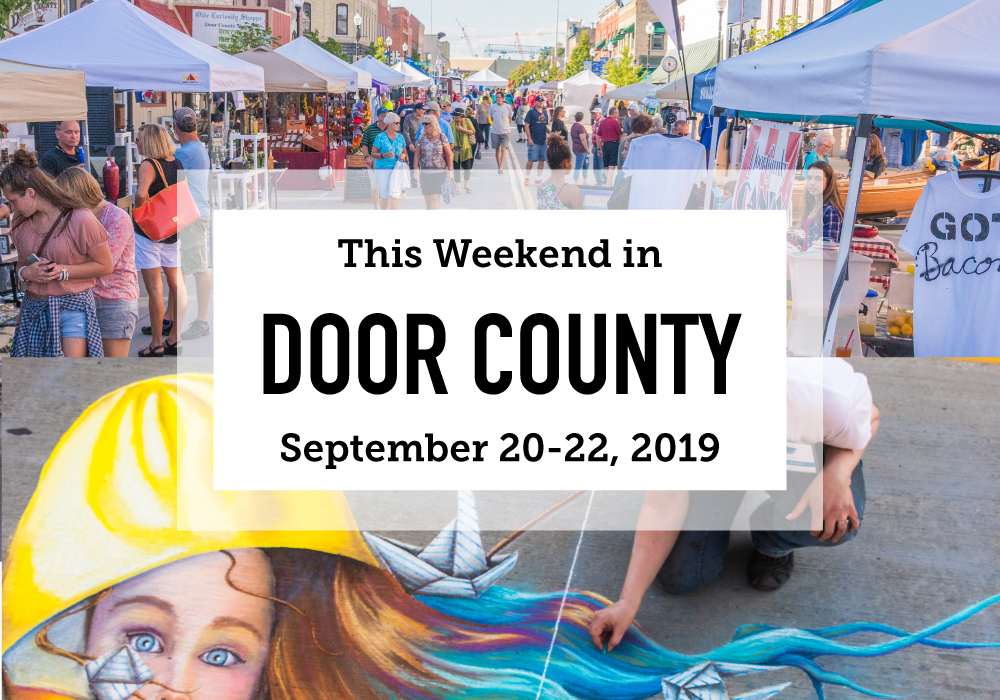 This Weekend in Door County: Harvest Festivals and Very Stinky Cheese - Door County Pulse