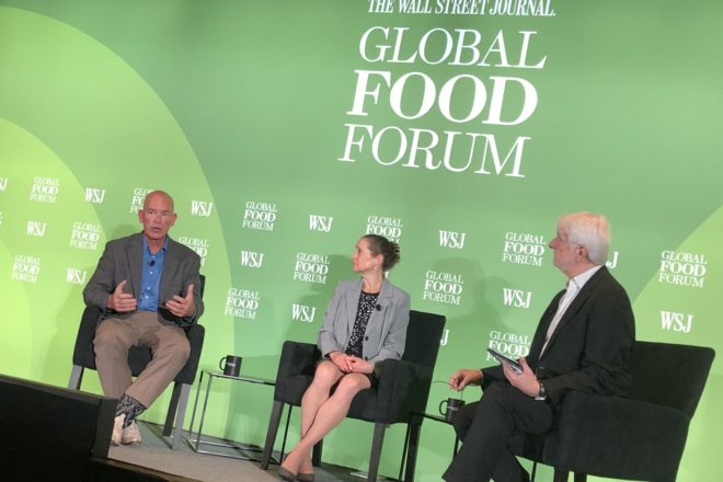 Kewaunee Farmer Speaks at Global Food Forum