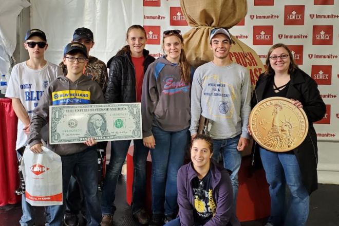 Southern Door Students Attend World Dairy Expo