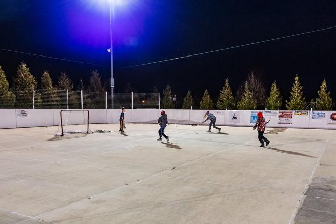 Framed: Hilander Ice Rink Opens