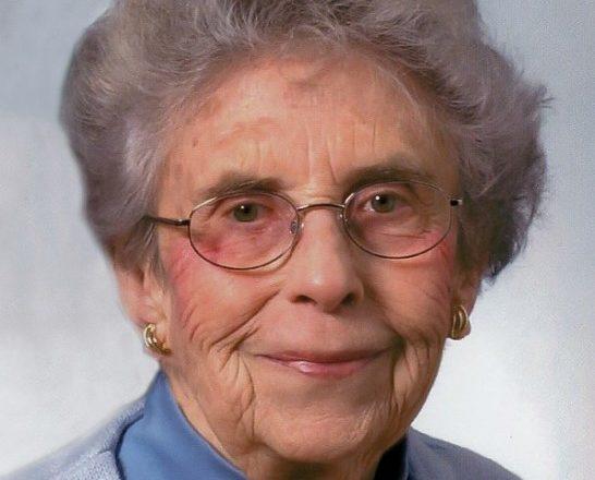 Obituary: Frances Sweeny Baumlisberger Alvin