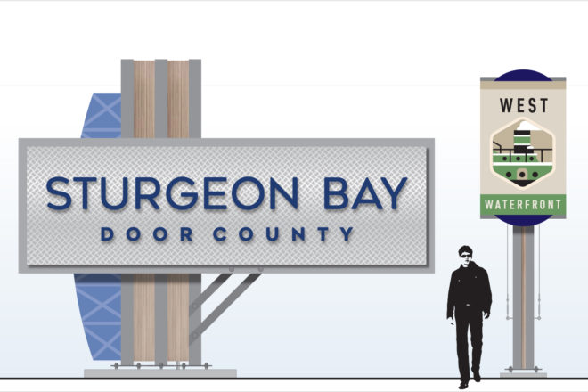Sturgeon Bay's New Brand: City hopes new signage pulls visitors downtown