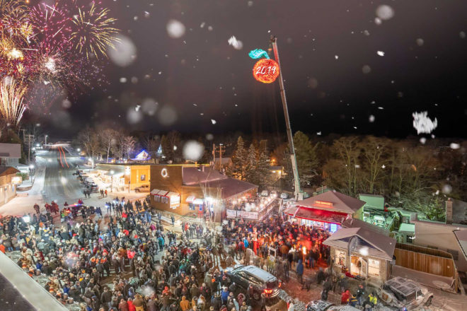 Cherry Will Drop New Year's Eve in Sister Bay