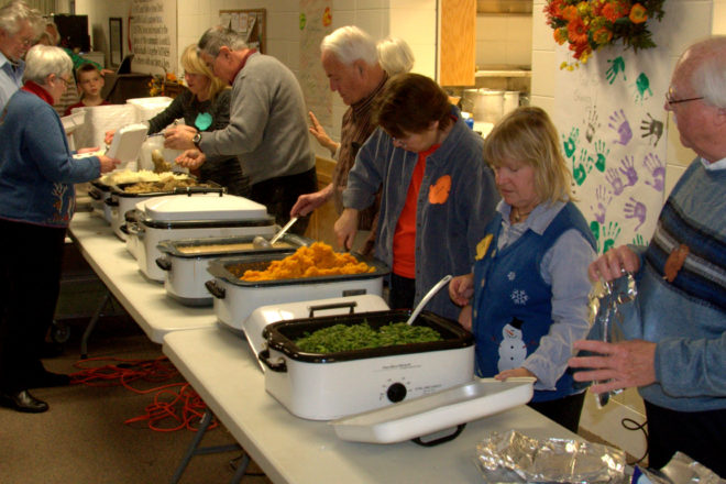 Sturgeon Bay United Methodist Will Hold 40th Free Thanksgiving Dinner