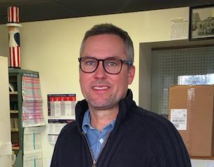 Server of the Week: Brandon Elliott at the Baileys Harbor Post Office