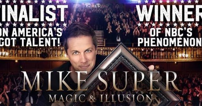 Illusionist Mike Super at SDCA Jan. 25