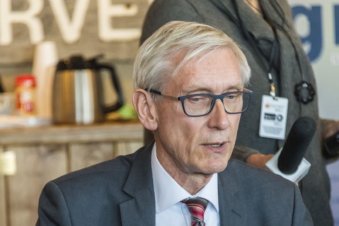 """Governor Tony Evers Issues """"Safer At Home"""" Order"""