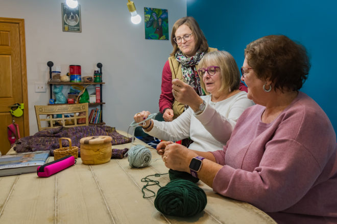 Find Your Crafting Family at Knit Whit's