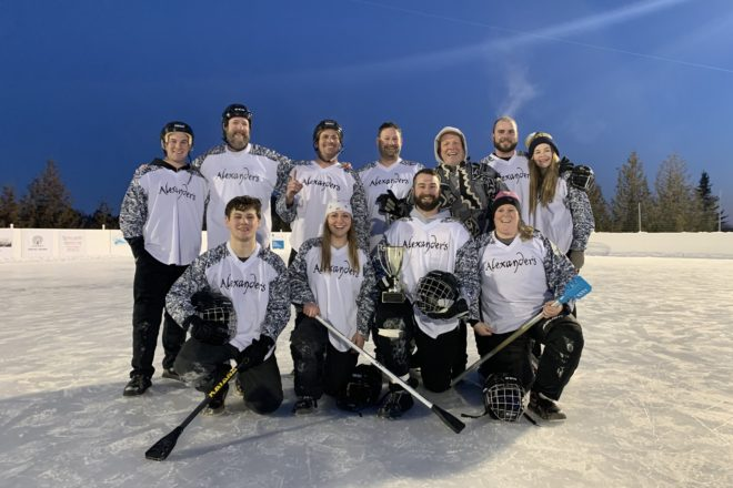 Alexander S Claims Broomball Title Again Door County Pulse