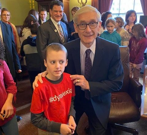 Evers Signs Dyslexia Bill into Law