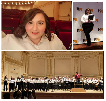 Dalena Pakalske Performs with Carnegie Hall Mixed Choir