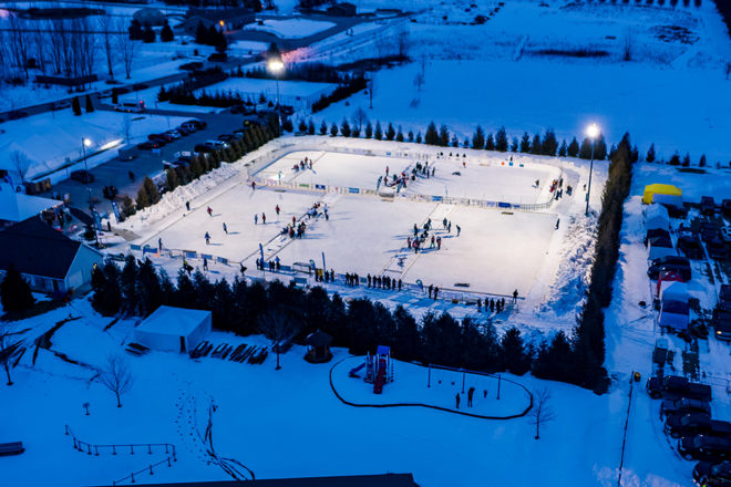 No Pond, but Door County Hockey Tourney A Success On Dry Land