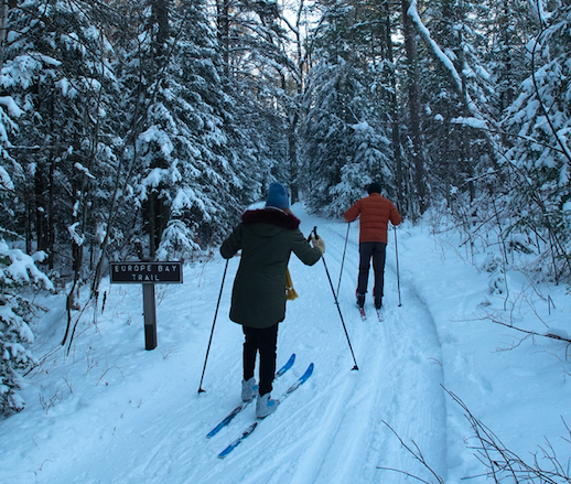 My First Time Cross-Country Skiing