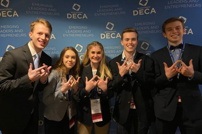 Gibraltar DECA Earns Awards at Development Conference