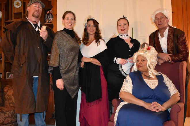 Rogue Theater's Murder-Mystery Dinner Theater