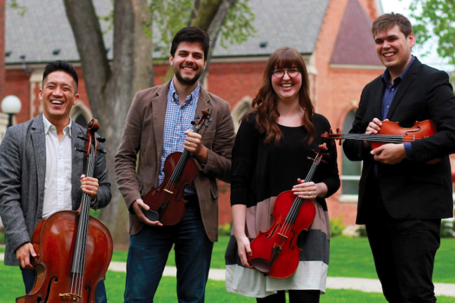 Griffon String Quartet Continues with Series of Performances