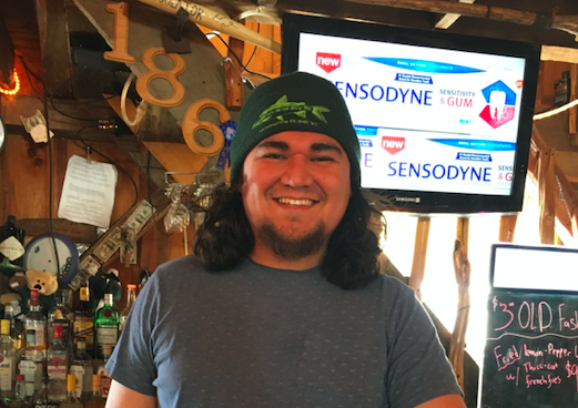 Server of the Week: Diego Anderson at The Granary on Washington Island