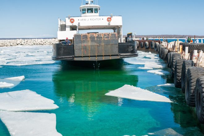 Washington Island Ferry Limited to Essential Traffic Only as Islanders Hunker Down