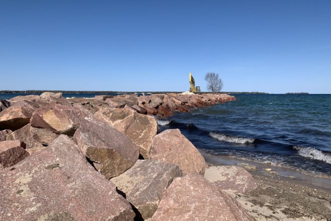 Cost-cutting Measures Sought for Jetty Repair